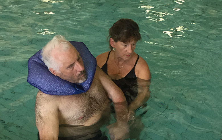 Getting back into the water with David